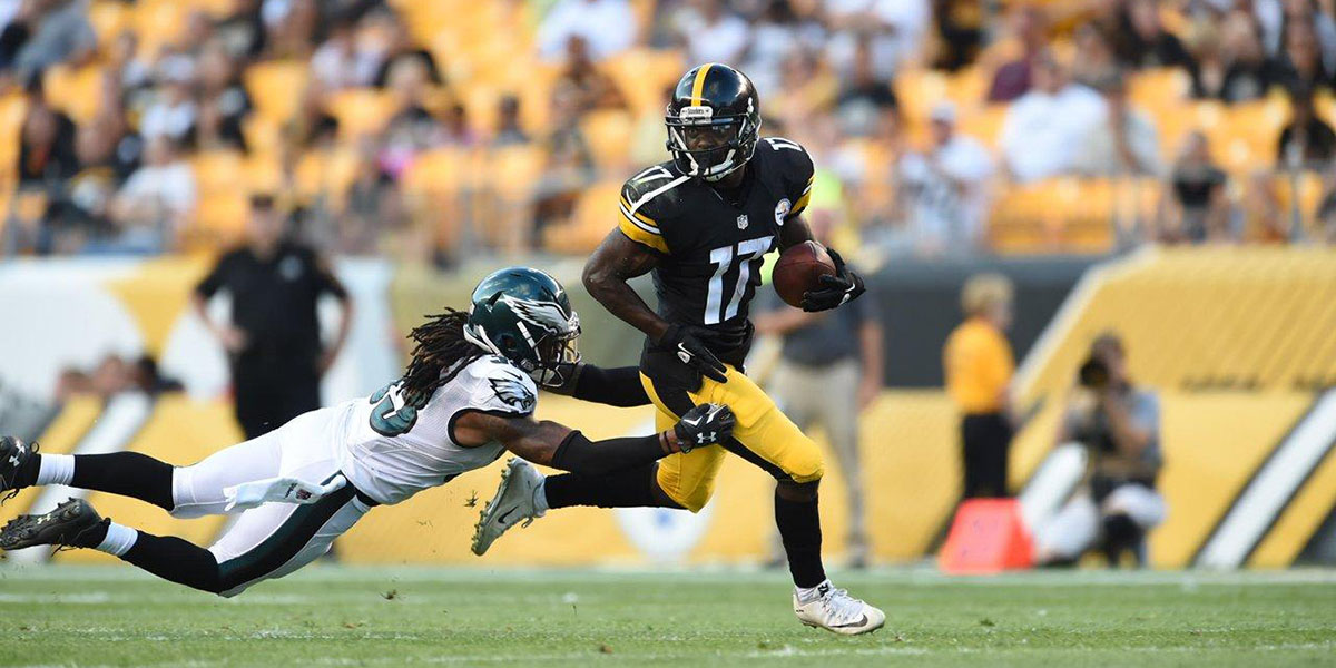 Steelers wide receiver Eli Rogers