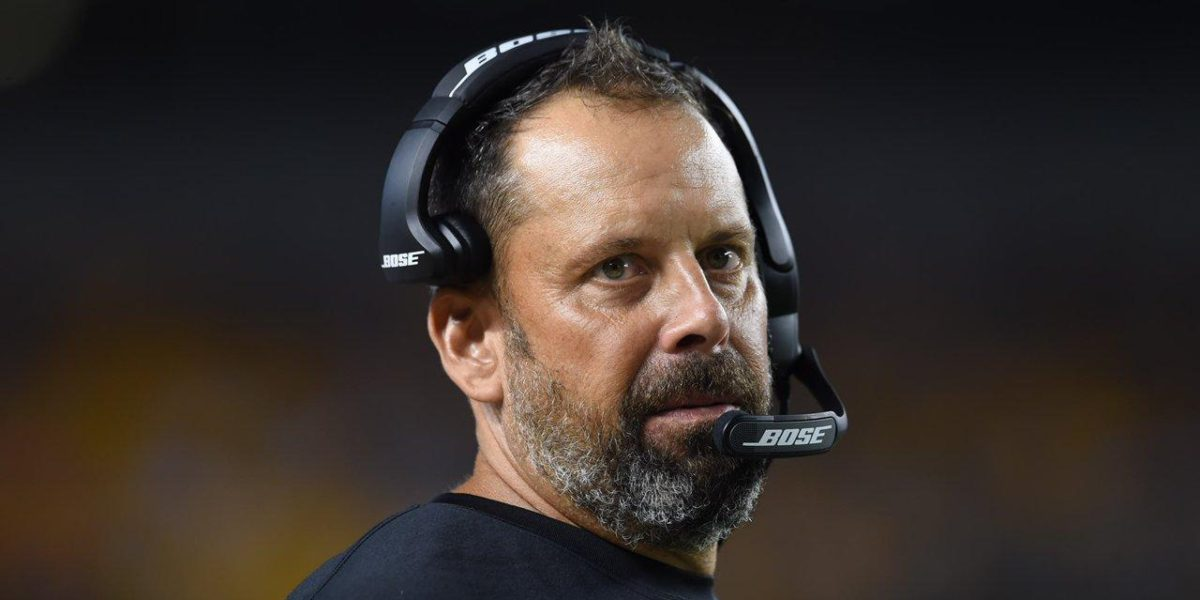 Pittsburgh Steelers Offensive Coordinator Todd Haley