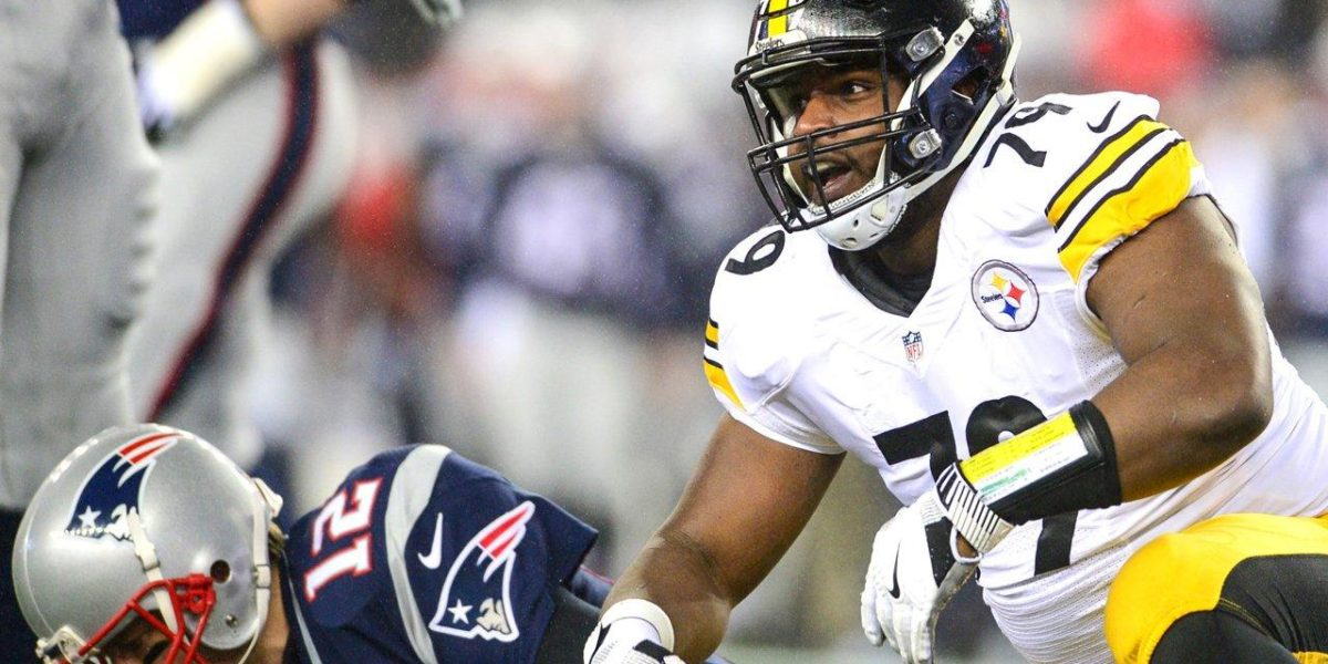Javon Hargrave sacks Tom Brady in Steelers AFC Championship game