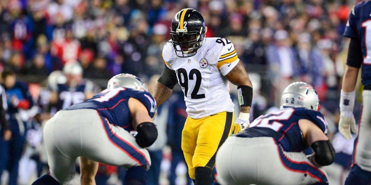 Pittsburgh Steelers linebacker James Harrison