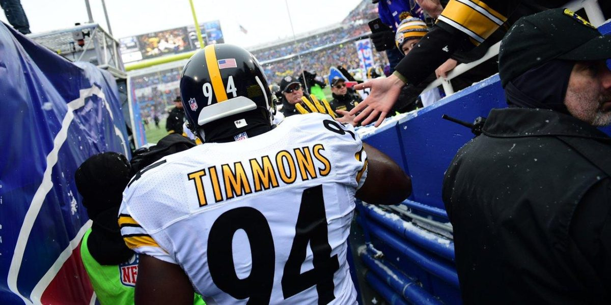Pittsburgh Steelers LB Lawrence Timmons is one of the best in pro football