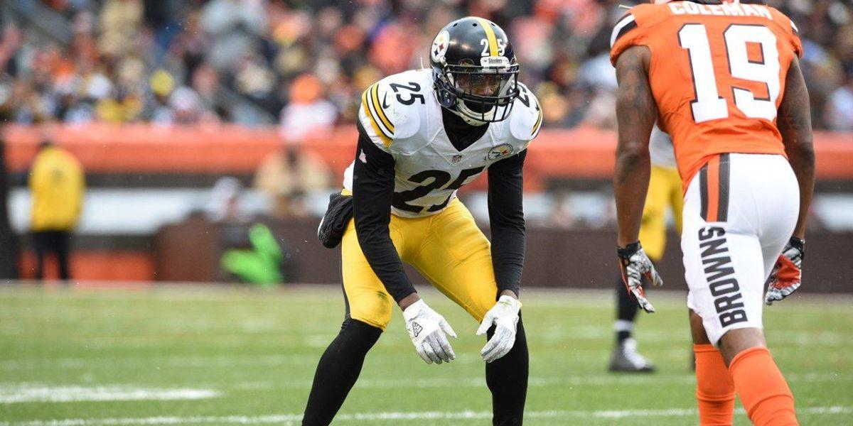Pittsburgh Steelers cornerback Artie Burns