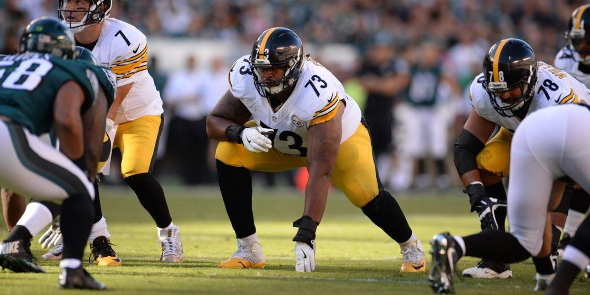 Steelers left guard Ramon Foster