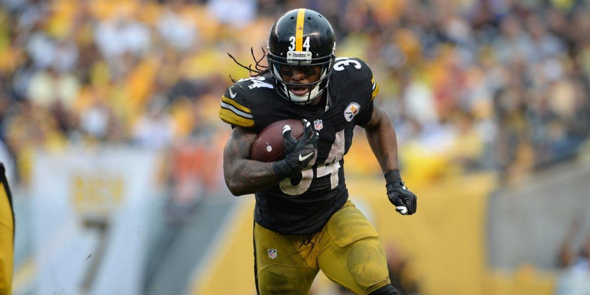 Steelers running back DeAngelo Williams