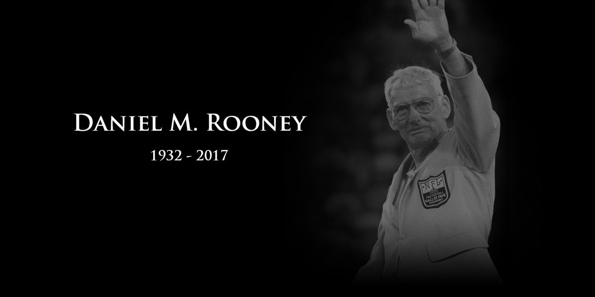 Steelers Chairman Dan Rooney Passes Away At Age 84