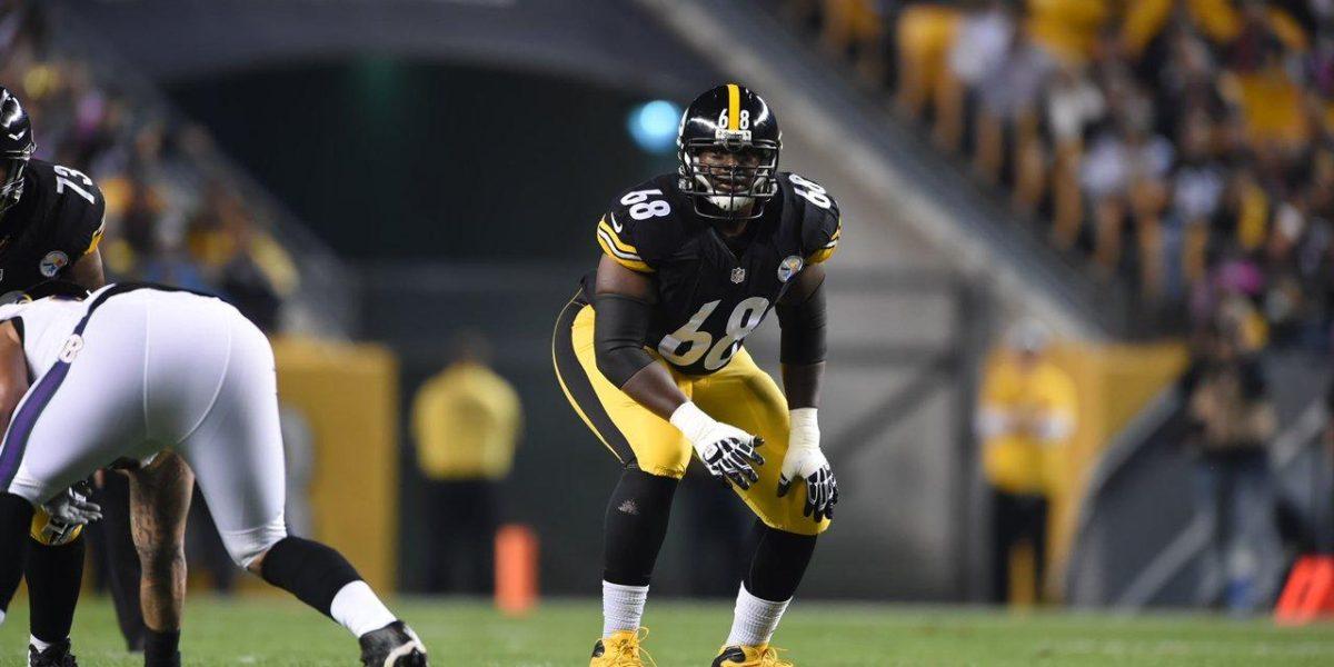 Pittsburgh Steelers tackle Kelvin Beachum