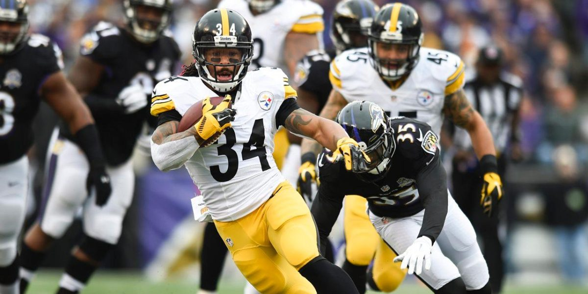 ea0cb5e30c7 Pittsburgh Steelers running back DeAngelo Williams · Home » Film Room: Sean  Davis is a force to be reckoned with