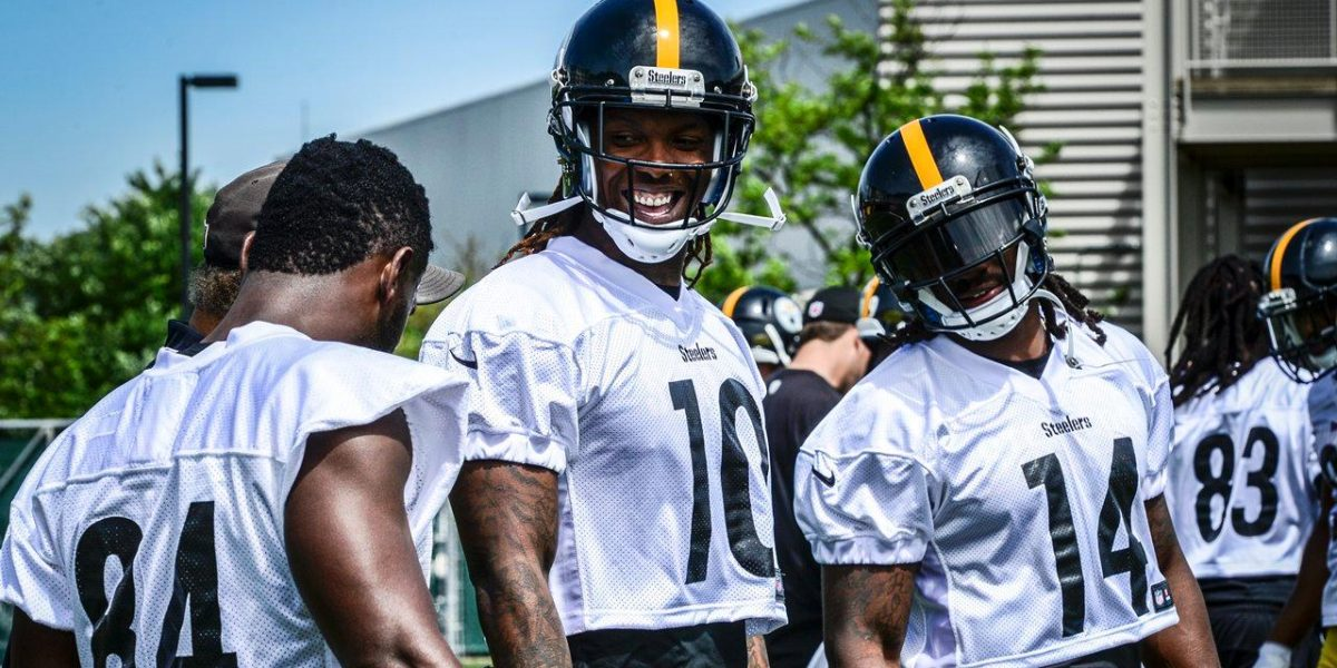 Pittsburgh Steelers wide receiver unit