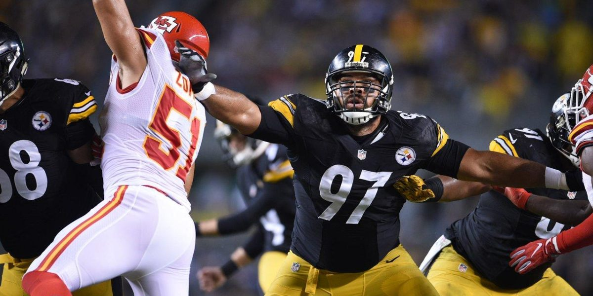 Pittsburgh Steelers defensive end Cameron Heyward