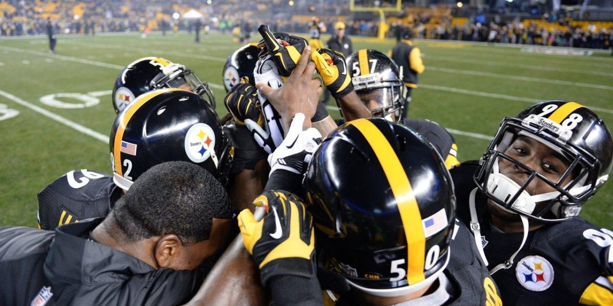 The Pittsburgh Steelers prepare to go to war
