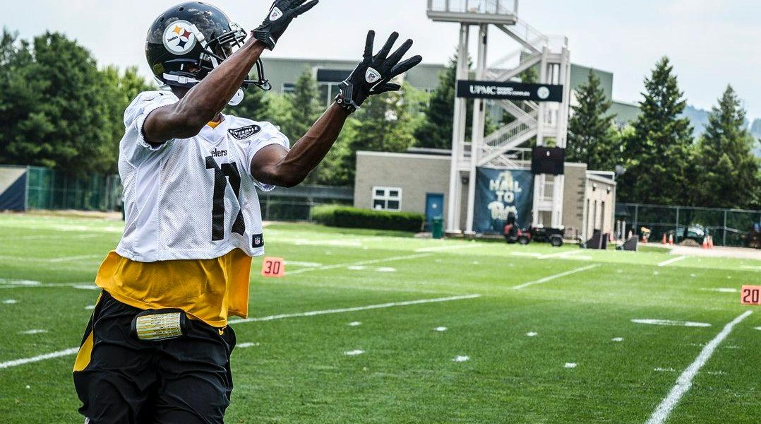 Pittsburgh Steelers WR Justin Hunter