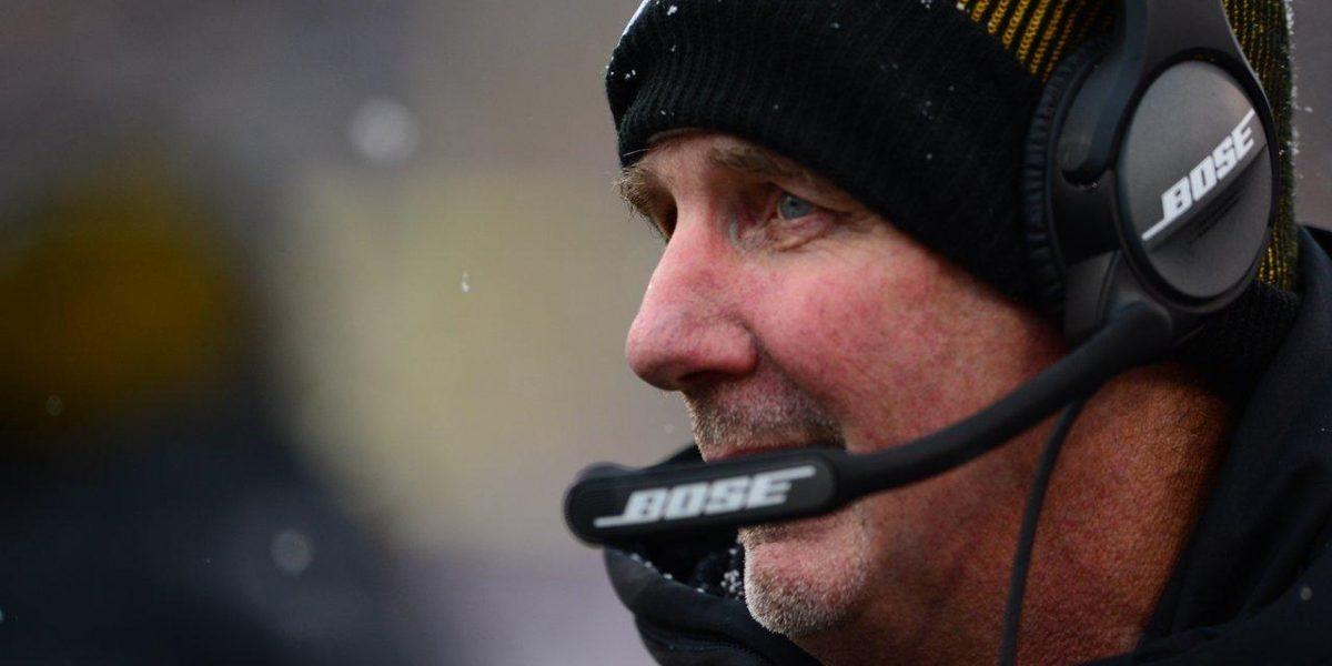Pittsburgh Steelers defensive coordinator Kevin Butler