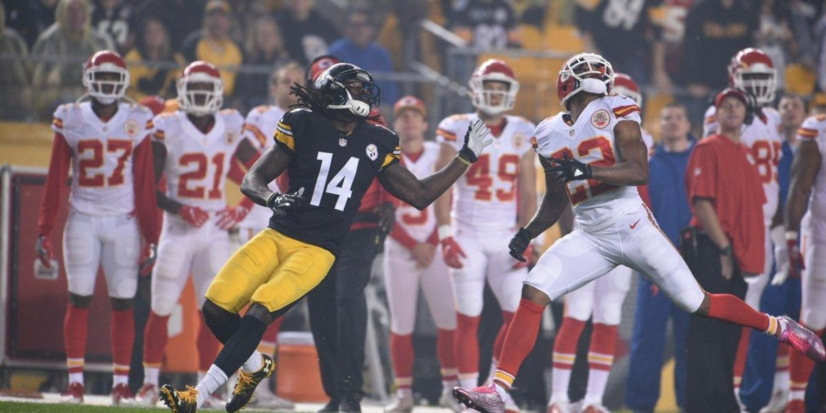 Pittsburgh Steelers WR Sammie Coates