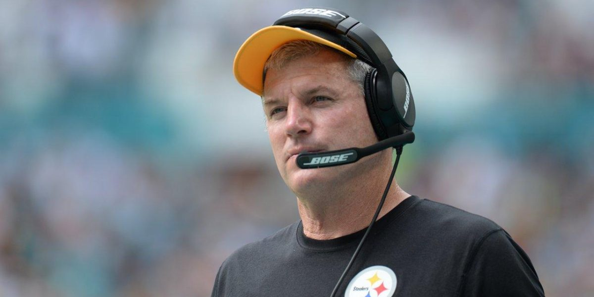 Pittsburgh Steelers offensive line coach Mike Munchak