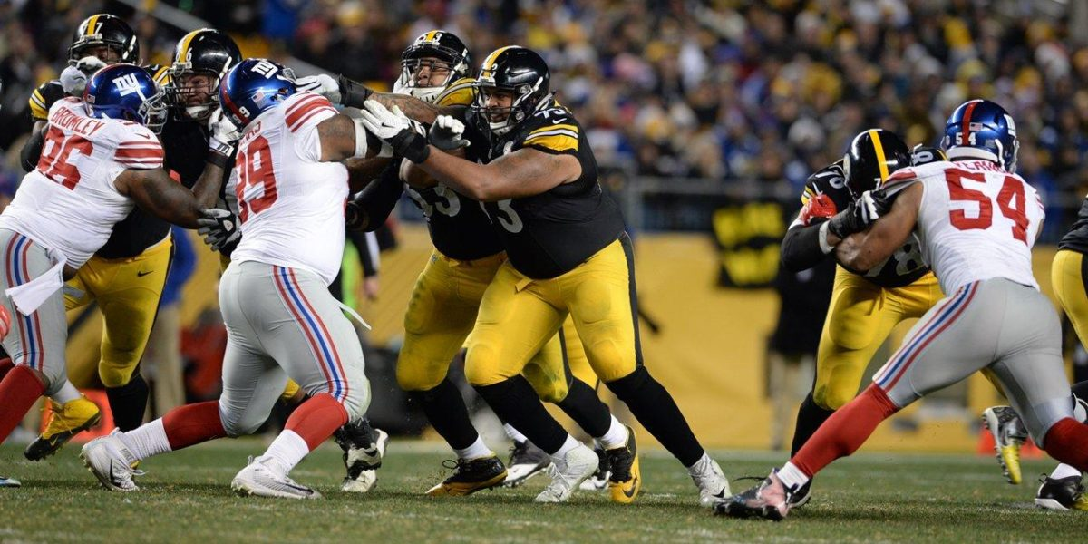 Pittsburgh Steelers offensive linemen Maurkice Pouncey and Ramon Foster