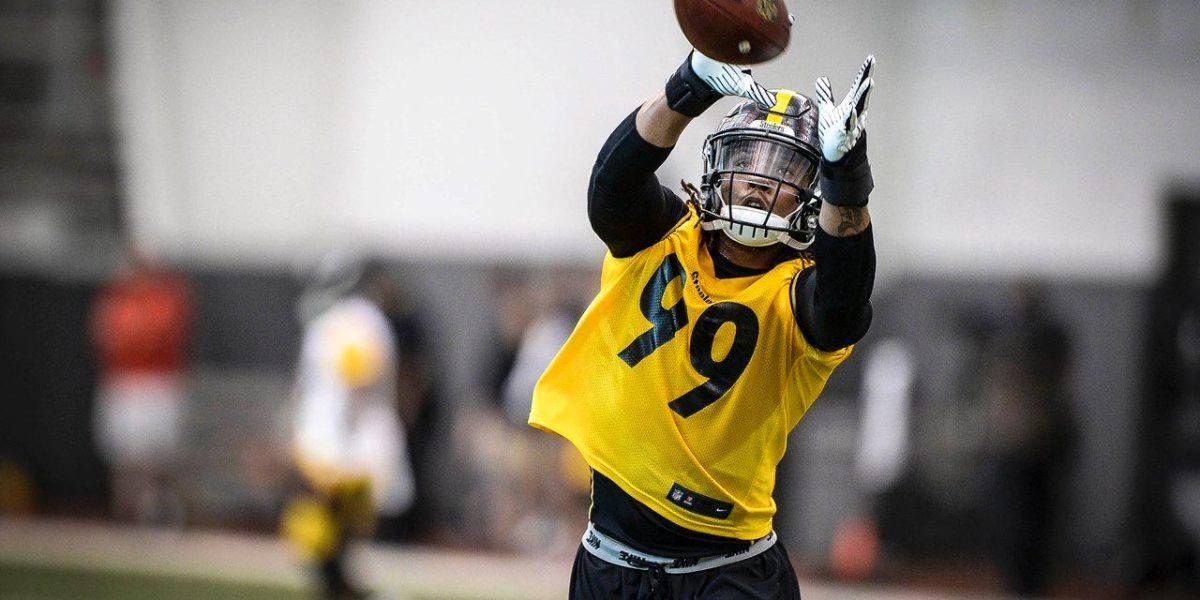 Pittsburgh Steelers linebacker Keion Adams