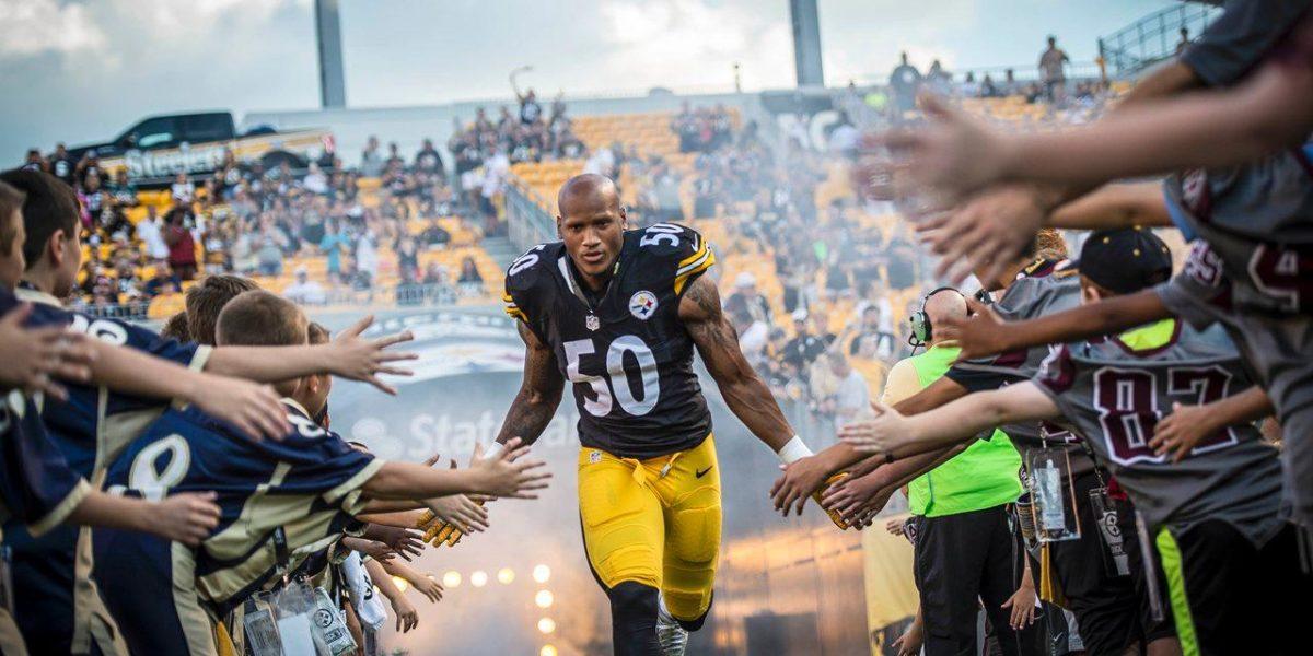Pittsburgh Steelers linebacker Ryan Shazier