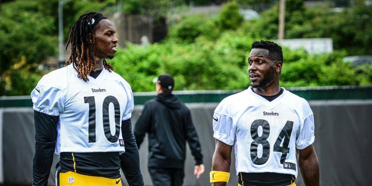 Pittsburgh Steelers receivers Martavis Bryant and Antonio Brown