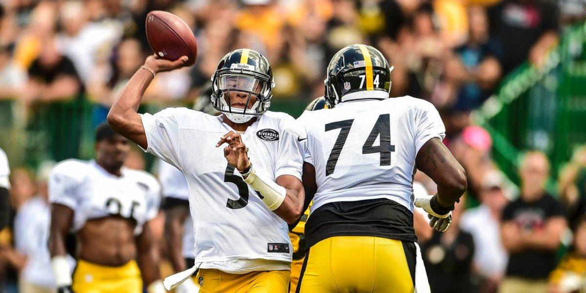 Pittsburgh Steelers quarterback Joshua Dobbs