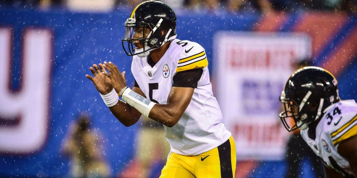 Pittsburgh Steelers quarterback Josh Dobbs