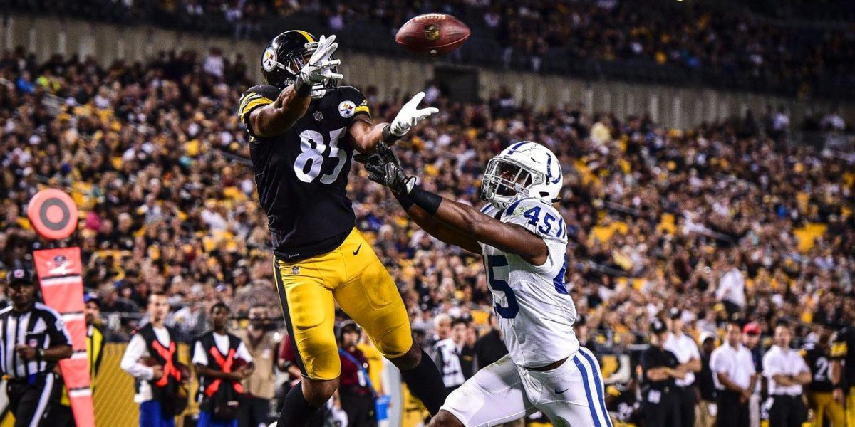 Pittsburgh Steelers tight end Xavier Grimble