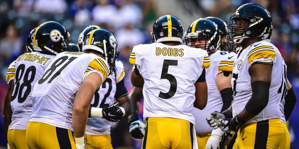 huge discount 2a3a9 fa528 Playing time winners & losers for Steelers vs. Giants ...