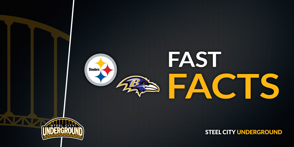 Steelers vs. Ravens Fast Facts