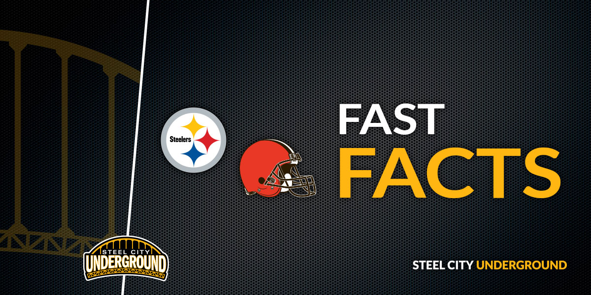 Steelers vs. Browns Fast Facts