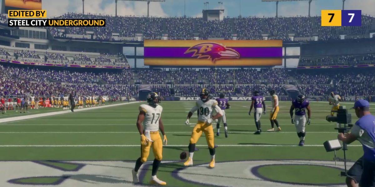 Steelers Ravens Madden Sim