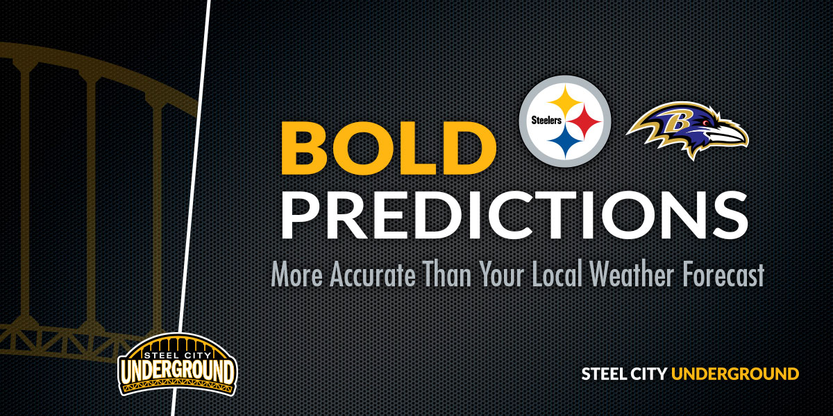 Steelers vs. Ravens Bold Predictions