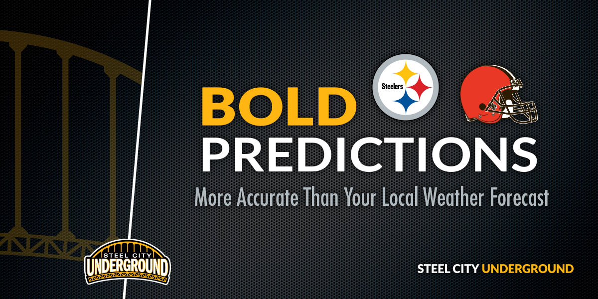 Steelers vs. Browns Bold Predictions