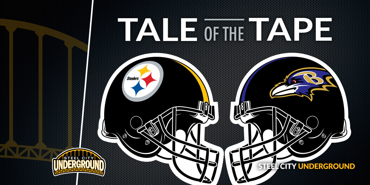 Steelers Ravens Tale of the Tape