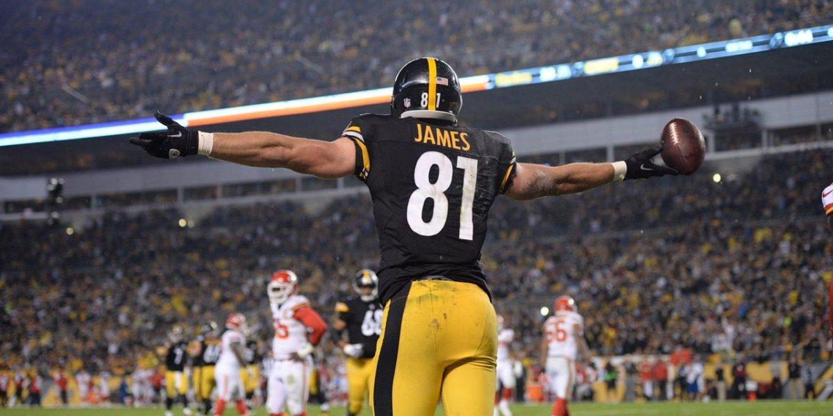 5970b623ee3 Pittsburgh Steelers vs. Minnesota Vikings Preview. Pittsburgh Steelers  tight end Jesse James