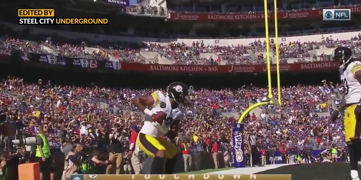 Pittsburgh Steelers WR JuJu Smith-Schuster