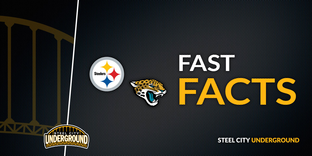 Steelers vs. Jaguars Fast Facts