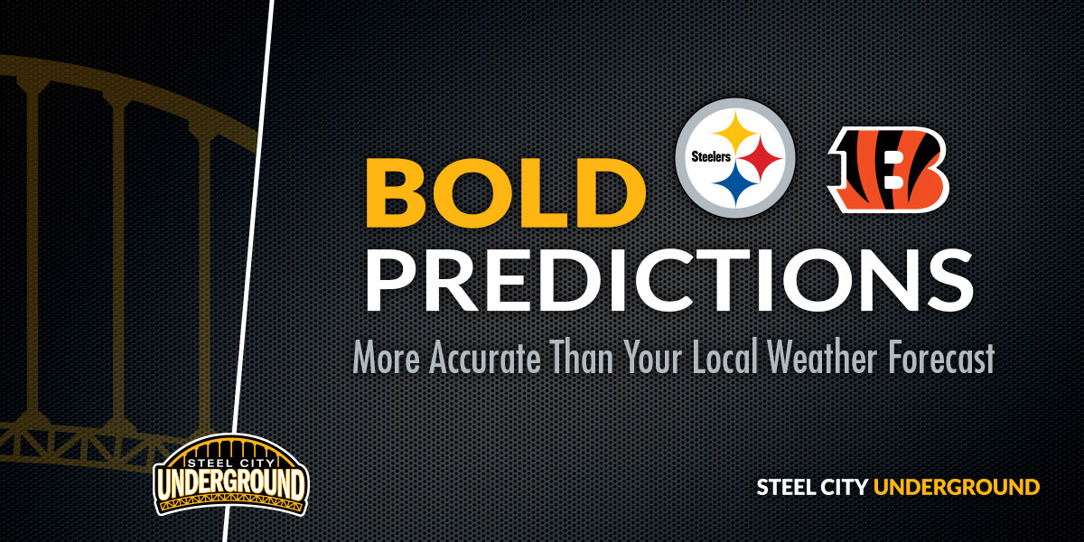 Steelers Bengals Bold Predictions