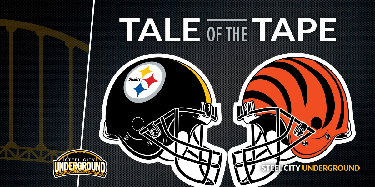 Steelers Bengals Tale of the Tape