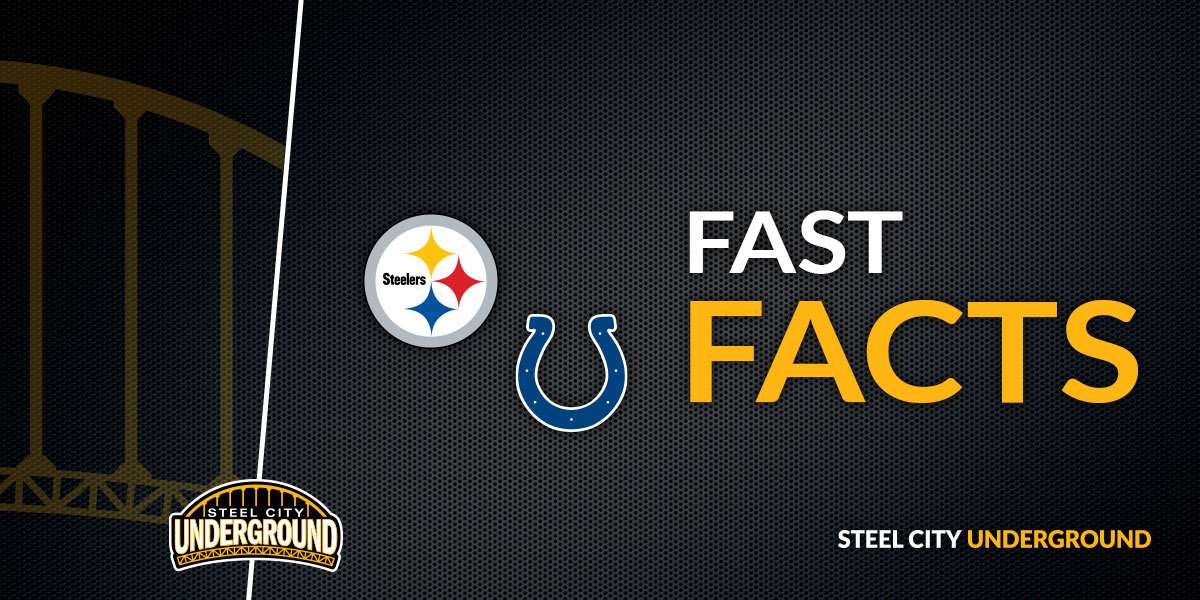 Steelers vs. Colts Fast Facts
