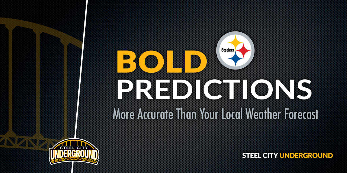 Steelers Bold Predictions
