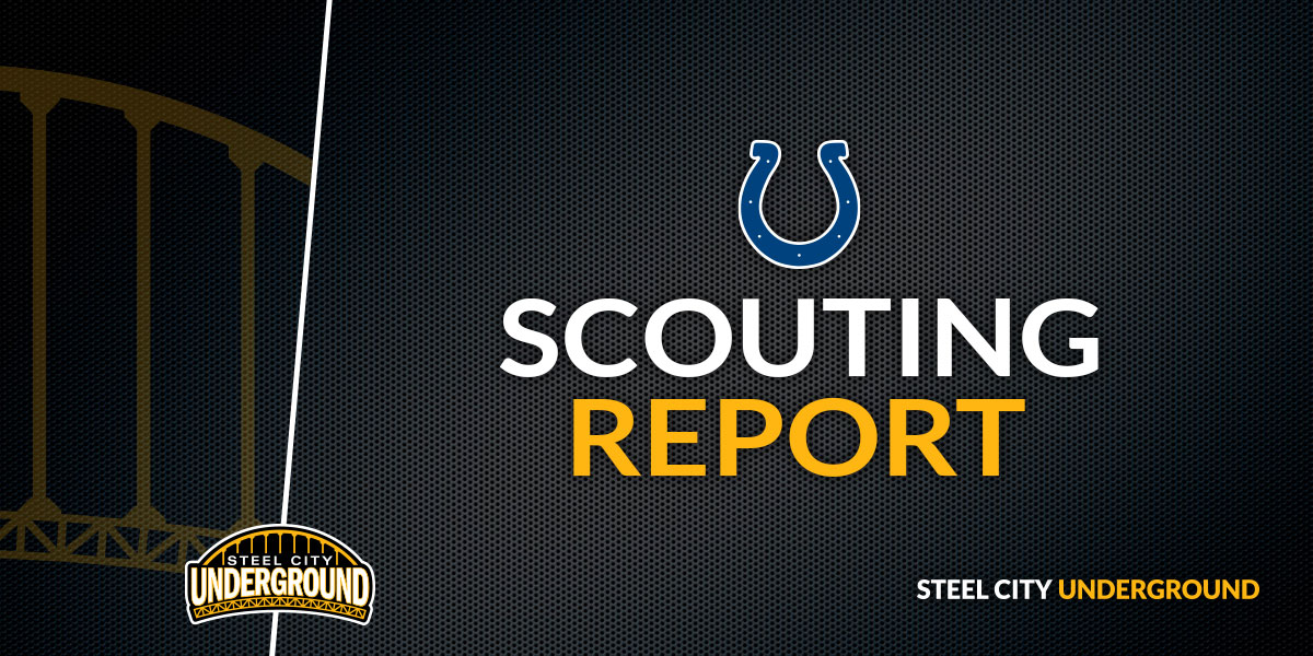 Steelers vs. Colts Scouting Report