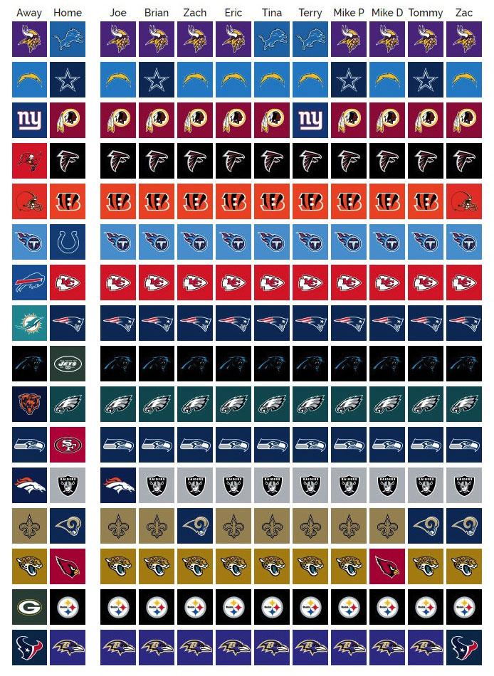 Week 12 NFL Picks