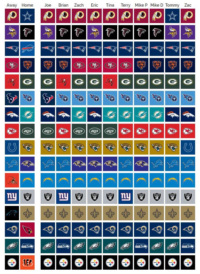 Week 13 NFL Picks