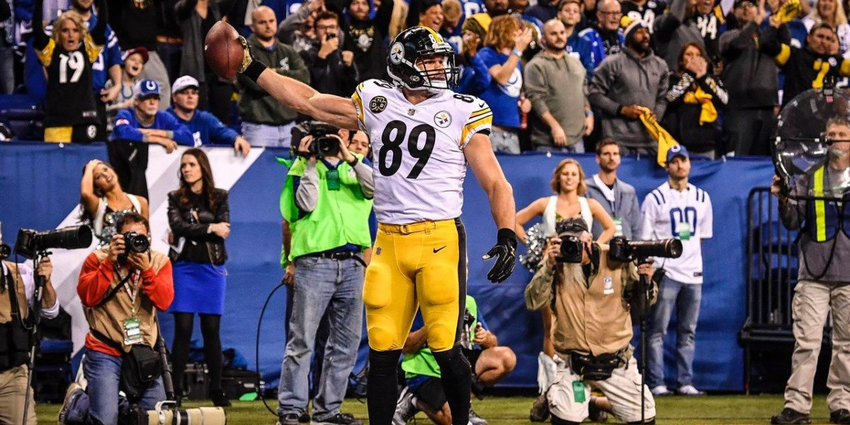 Pittsburgh Steelers TE Vance McDonald