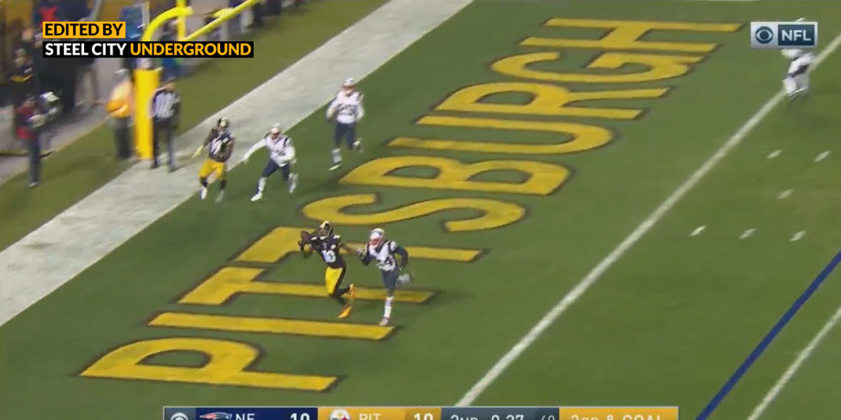 Martavis Bryant touchdown catch