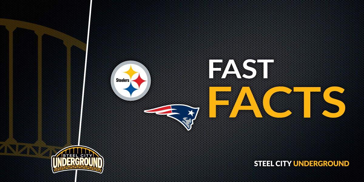 Steelers Patriots Fast Facts