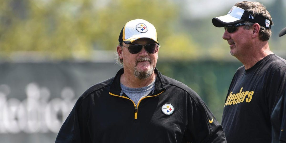 Pittsburgh Steelers offensive coordinator Randy Fichtner