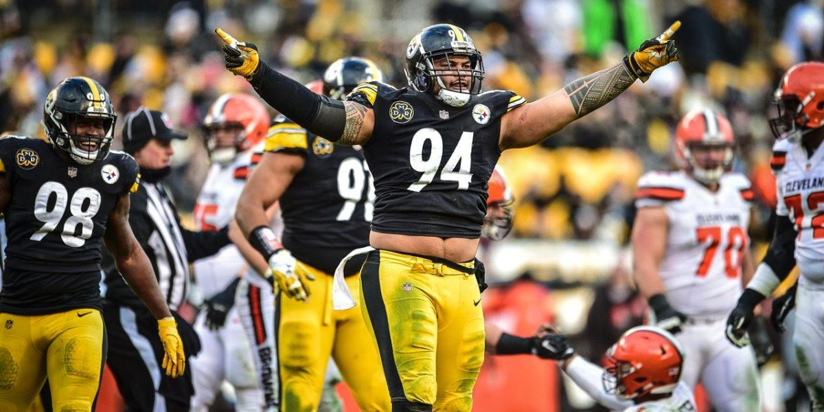 Pittsburgh Steelers DE Tyson Alualu