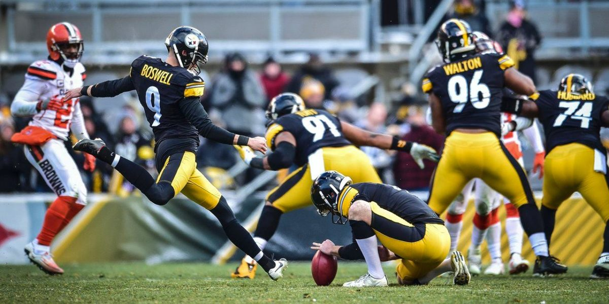 Pittsburgh Steelers K Chris Boswell