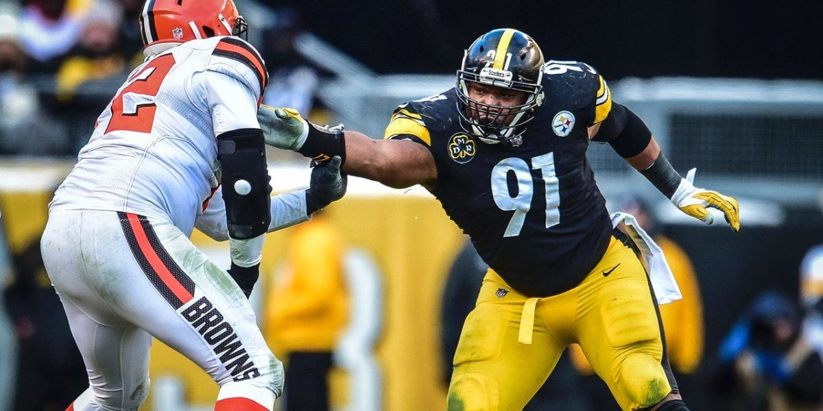 Pittsburgh Steelers defensive end Stephon Tuitt