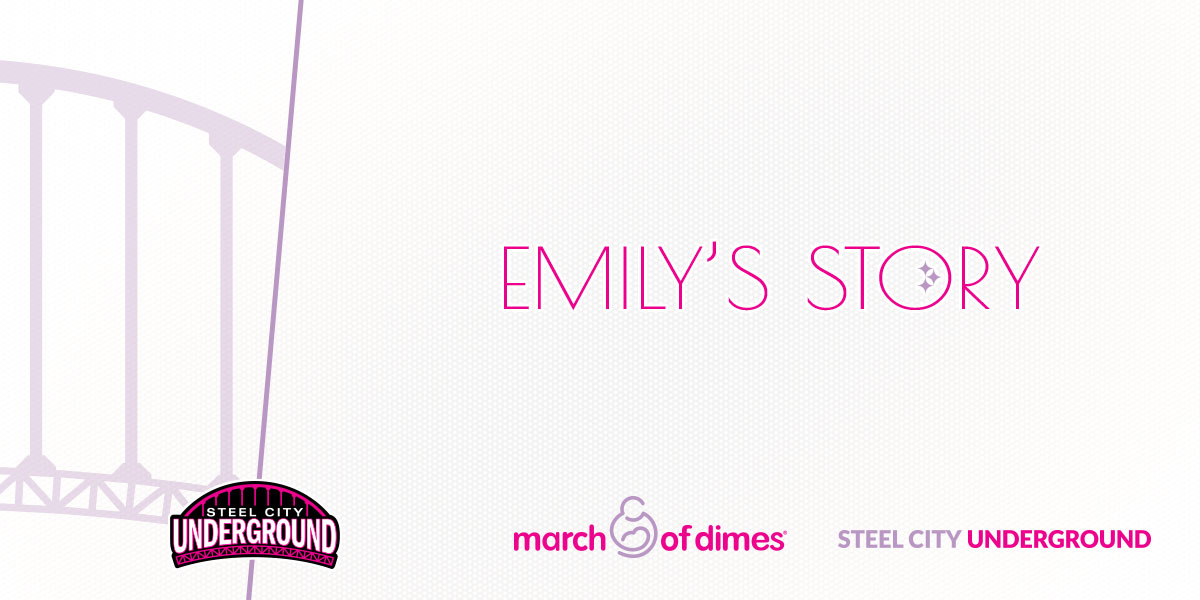 Emily's Story | SCU March of Dimes Fundraiser